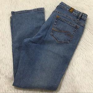 Wrangler aura denim boot cut jeans